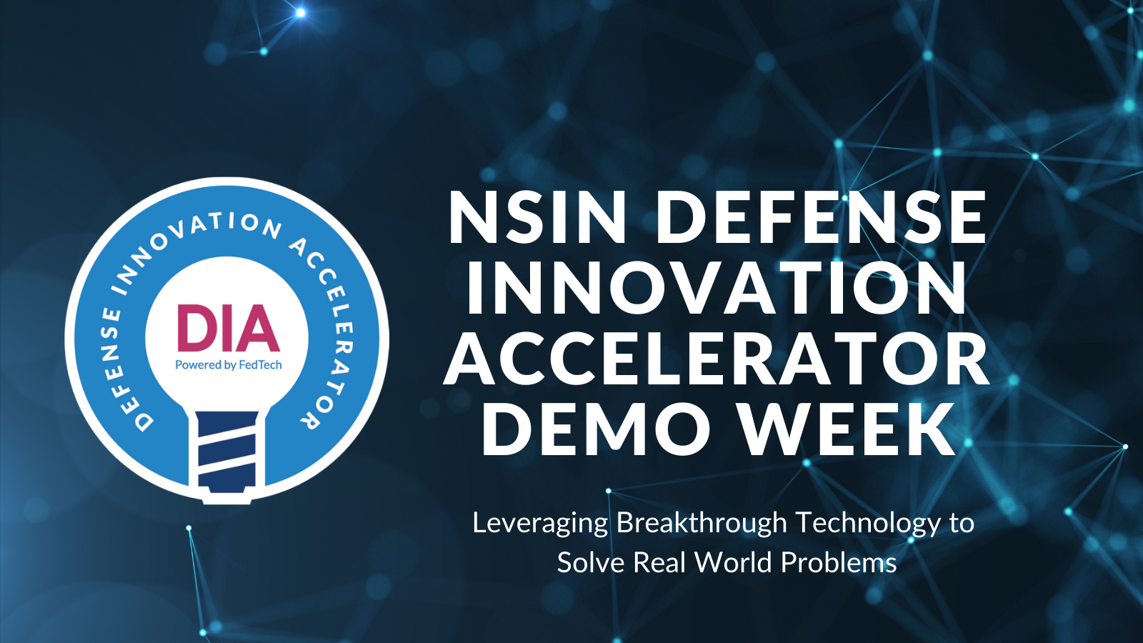 NSIN DIA Demo Week Cover image